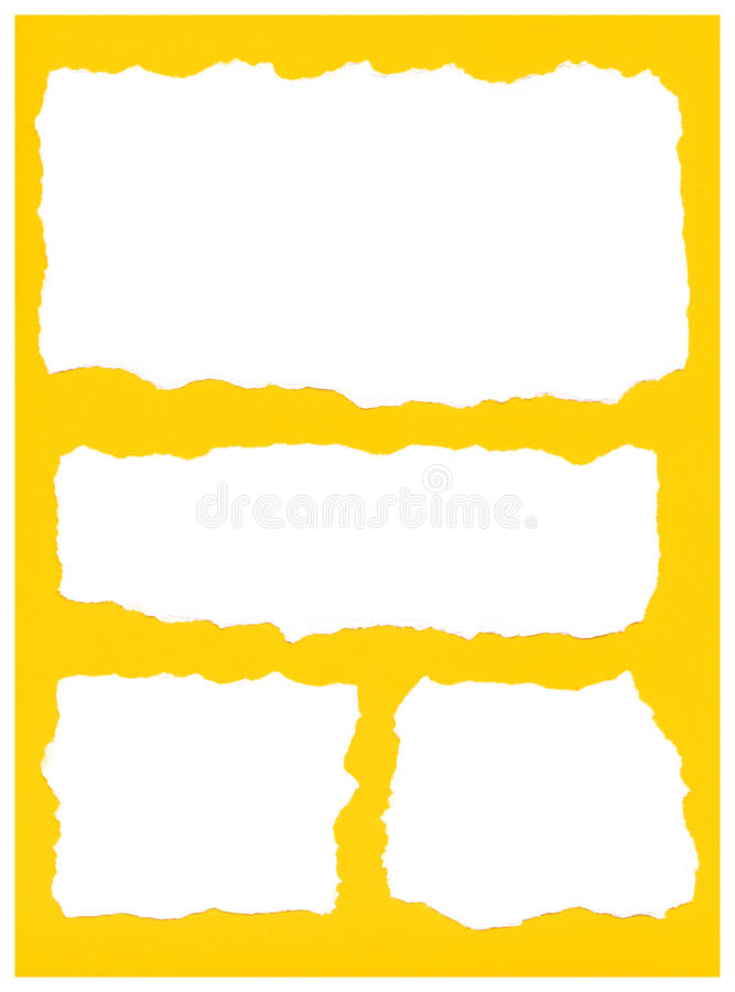 Papierrisse vektor abbildung