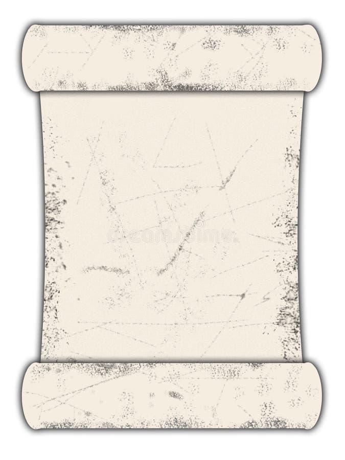 Papierrolle lizenzfreie stockbilder