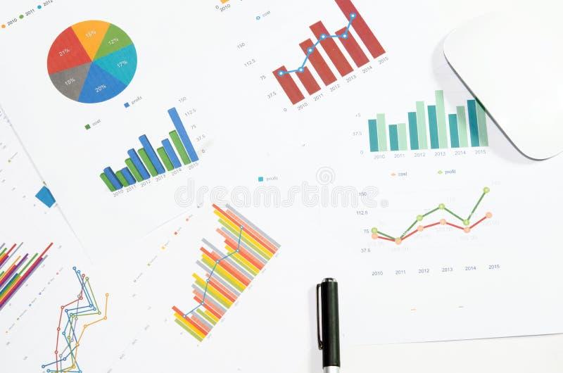 Papiers d'affaires images stock