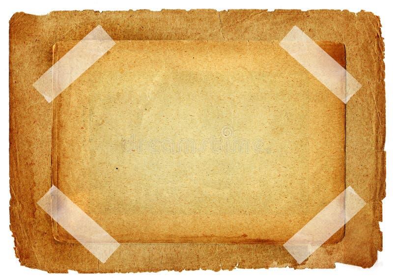 Papiers de cru illustration de vecteur