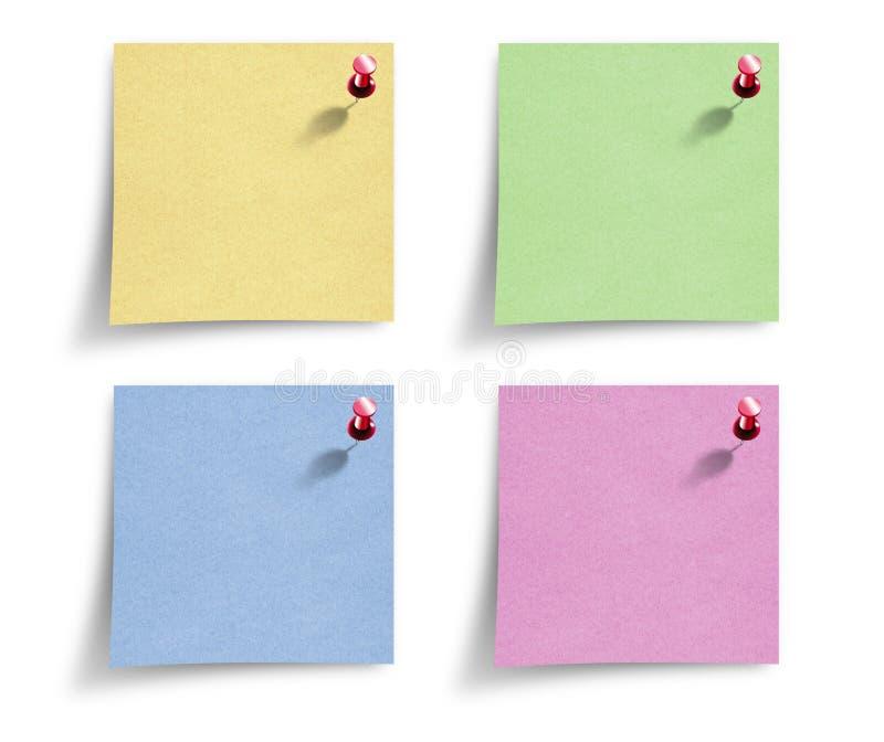 Papiers de note photo stock