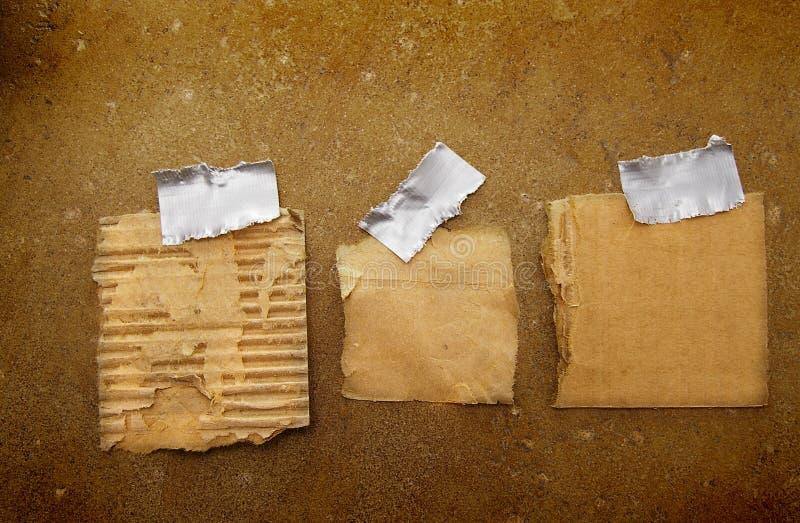 Papierschrotte lizenzfreie stockfotos