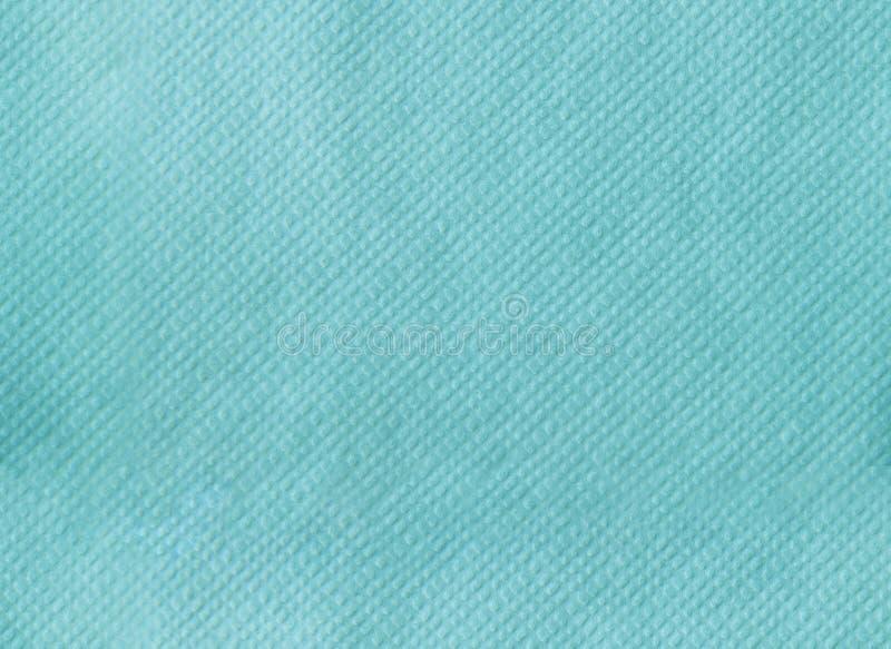 Papierserviette, die nahtlose Beschaffenheit prägt Tiffany-Farbhintergrund lizenzfreies stockbild