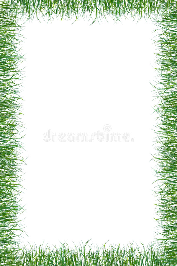 Papiersommerhintergrund des grünen Grases vektor abbildung