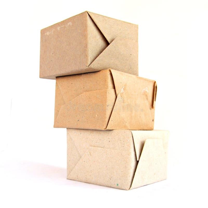 Papierverpackung stockfotos