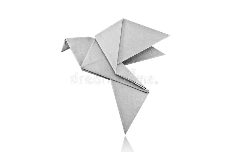 Papiervogel. stockfotografie
