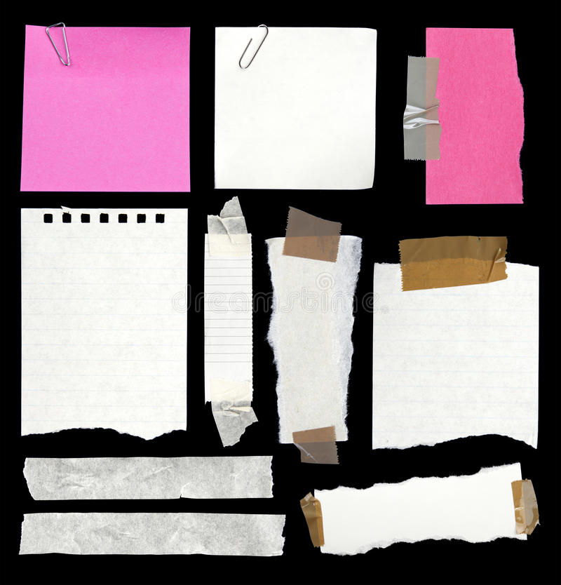 Papiery zdjęcia stock