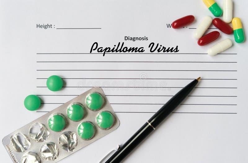 diagnosa papiloma adalah