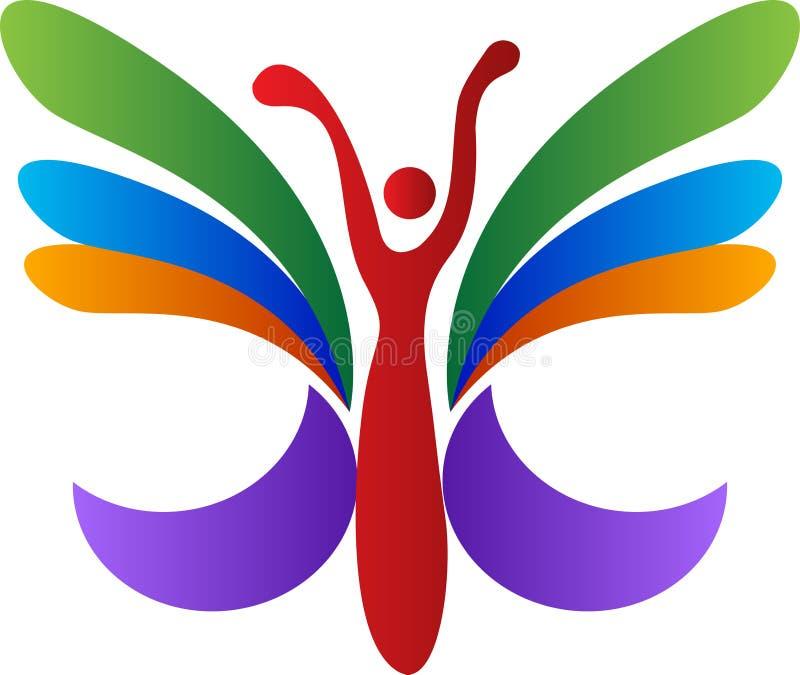 Papillon abstrait illustration de vecteur