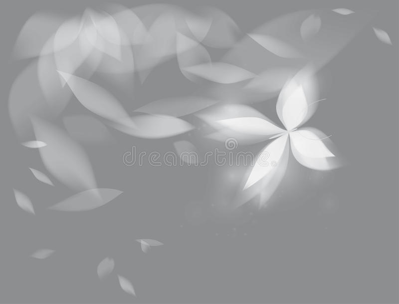 Papillon brillant illustration stock