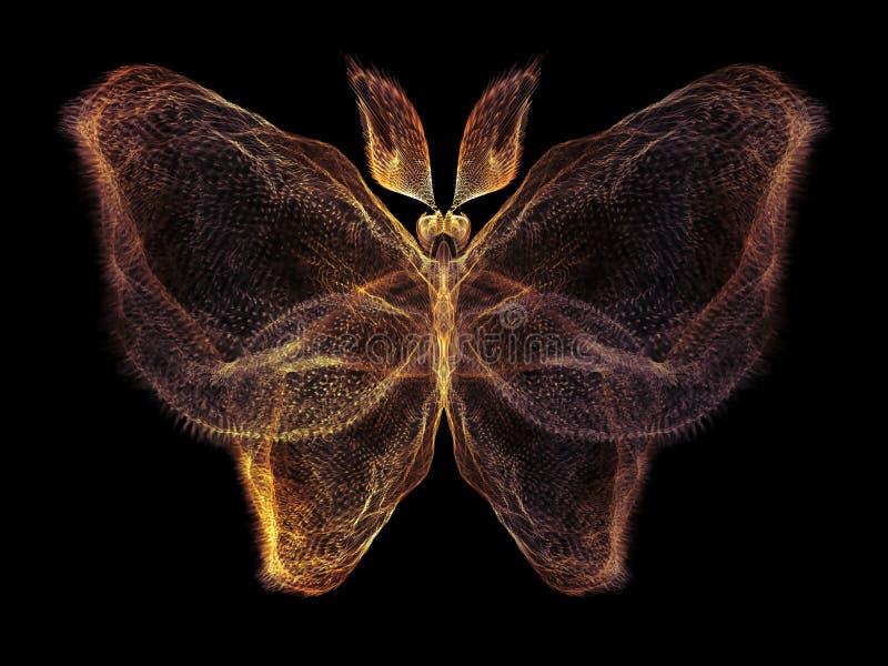 Papillon de Digital illustration libre de droits