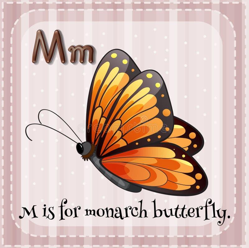 Papillon de monarque illustration libre de droits