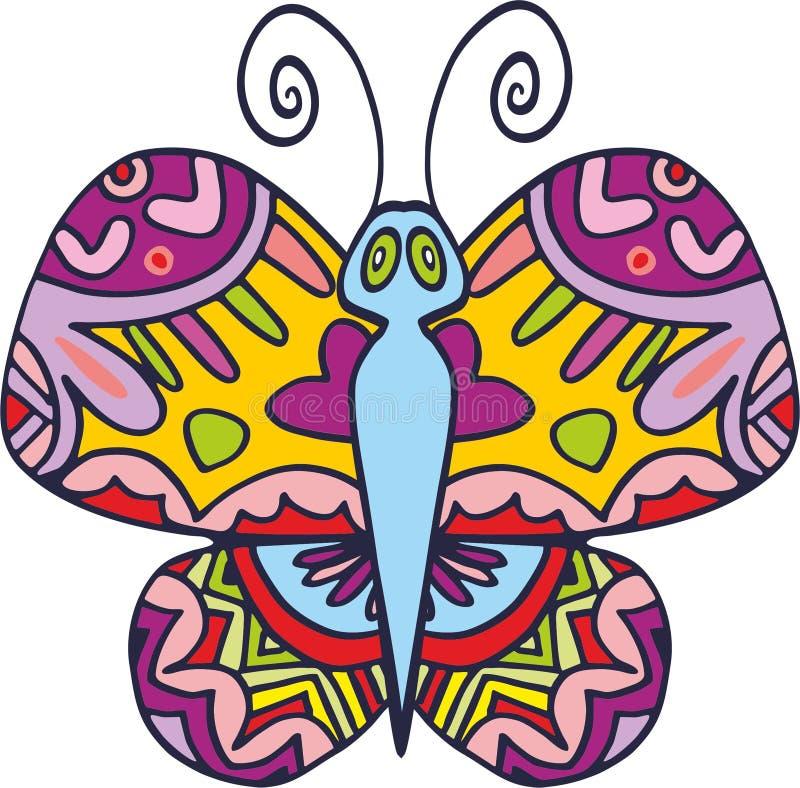 Papillon 1 de vecteur photos libres de droits