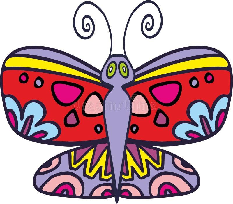 Papillon 2 de vecteur photos libres de droits