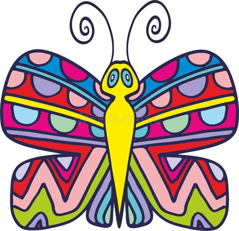 Papillon 3 de vecteur images libres de droits