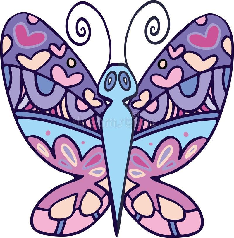 Papillon 4 de vecteur photos stock