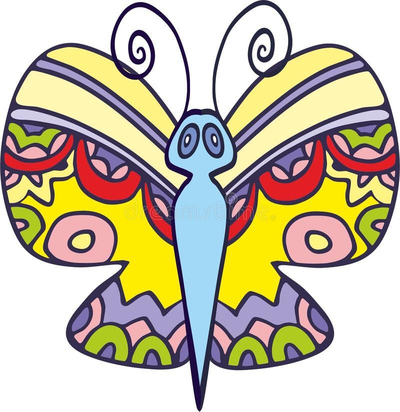 Papillon 5 de vecteur photographie stock