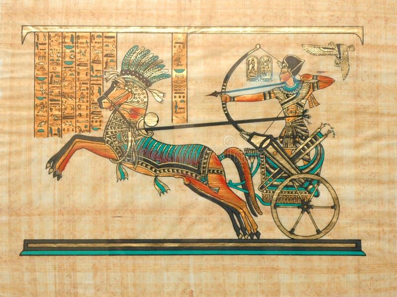 Papiro imagem de stock