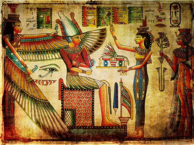 Papiro antiguo foto de archivo libre de regalías