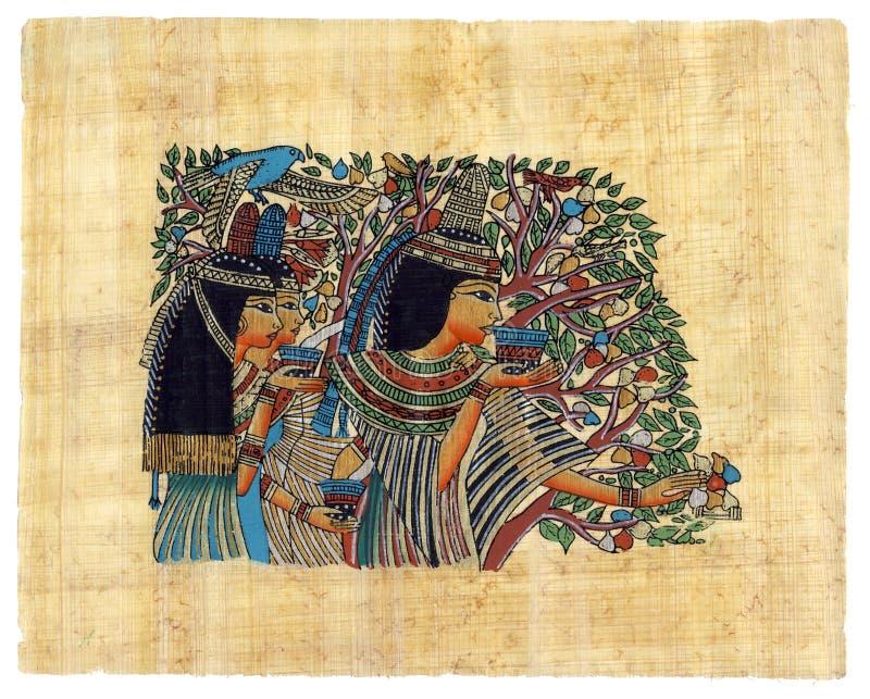Papiro egípcio ilustração do vetor