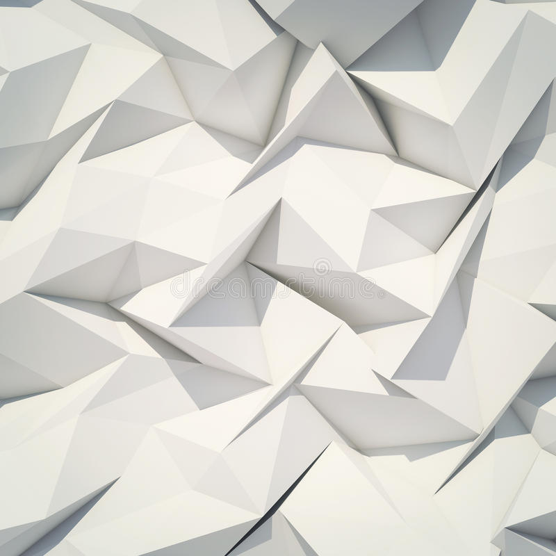 Papiroflexia abstracta del fondo libre illustration