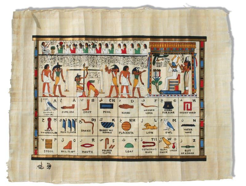 Papirus fotografía de archivo