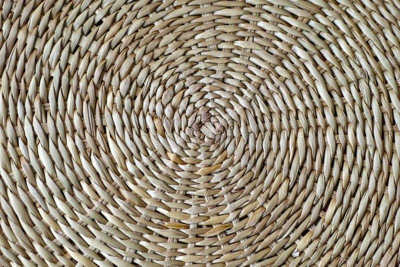 Papirusowy rattan wyplata tekstury wysoka rozdzielczość tło zdjęcie royalty free
