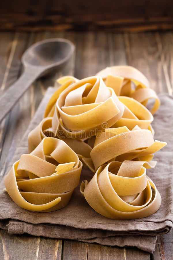 Pappardelle royalty free stock photos
