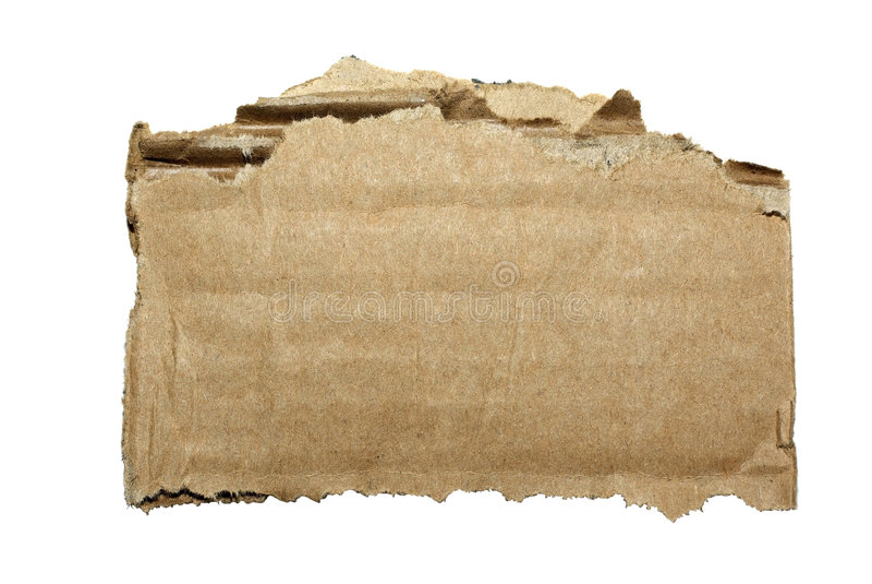 pappdel arkivbild