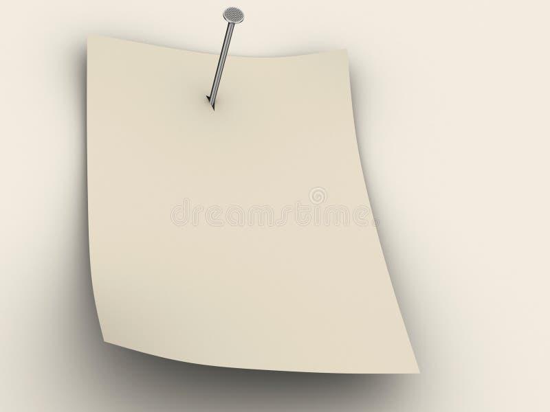 papper stock illustrationer