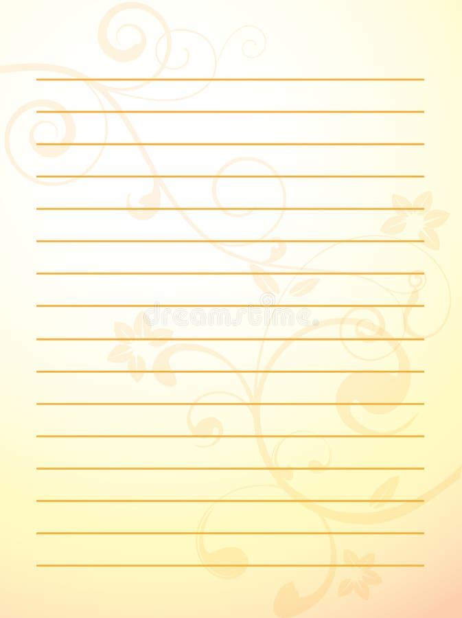 papper royaltyfri illustrationer