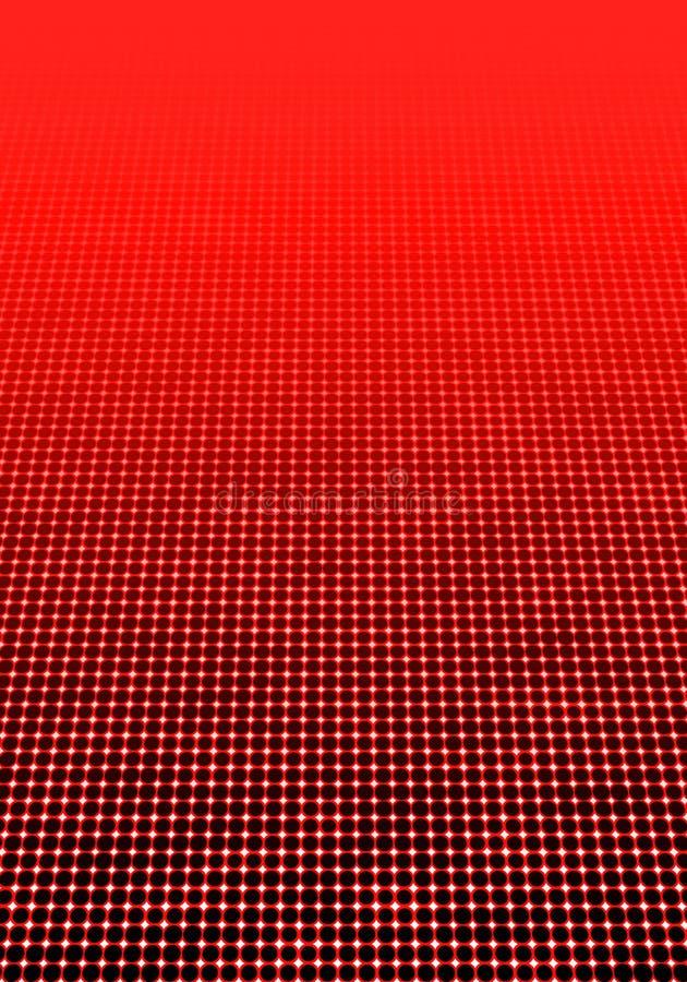 Papper mínimo decorativo geométrico del fondo de semitono punteado fotos de archivo
