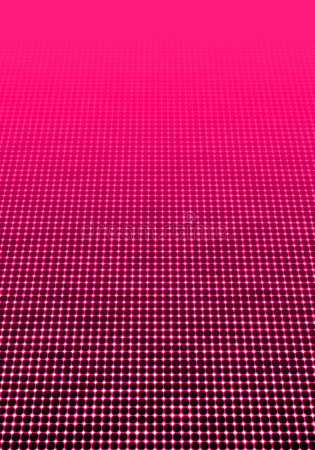 Papper mínimo decorativo geométrico del fondo de semitono punteado imagen de archivo libre de regalías