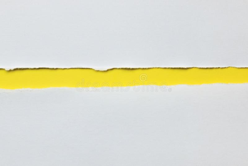 papper riven sönder white arkivbilder
