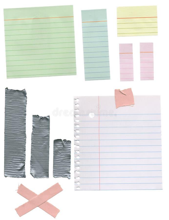 Papper texturerar bakgrunder arkivfoton