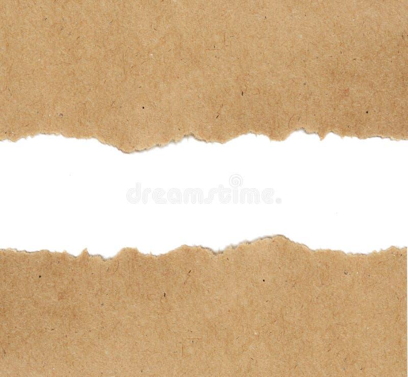 Pappers- bakgrund för hantverk royaltyfria foton