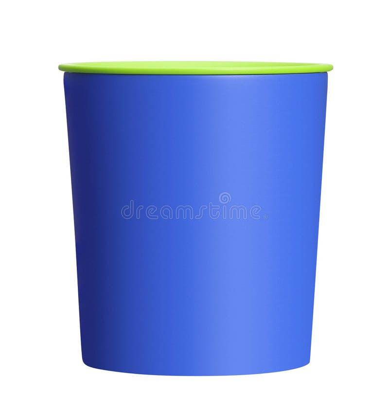 Pappers- kopp för glass arkivfoto