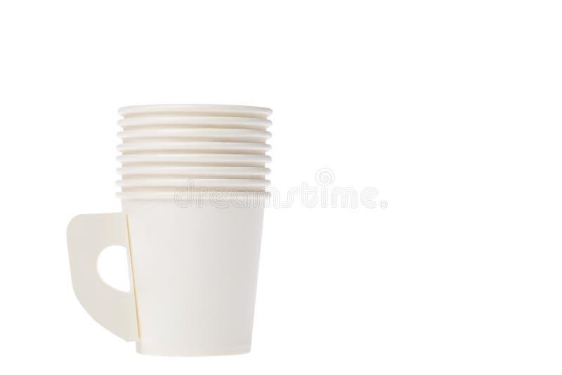 Pappers- kopp arkivbild