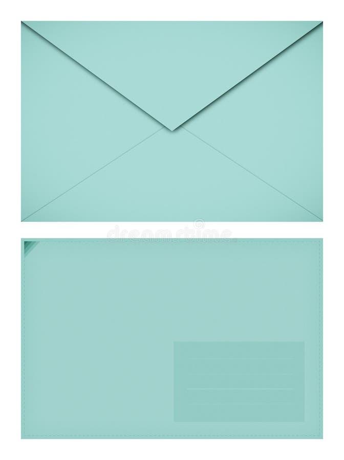 Pappers- kuvert för pastell royaltyfri bild