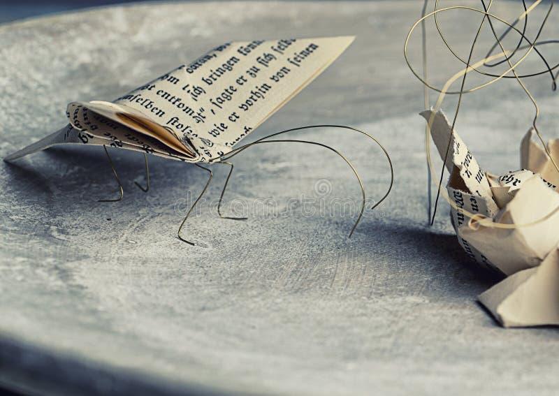 Pappers- malar arkivfoto