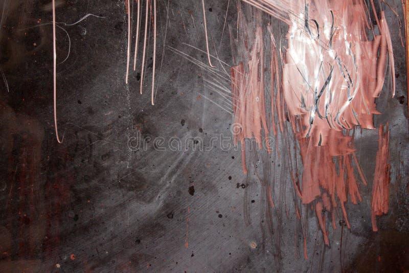 Pappers- planlagd grunge texturerar Affischtavlayttersida royaltyfri fotografi