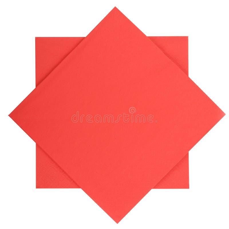 Pappers- servetter royaltyfri fotografi