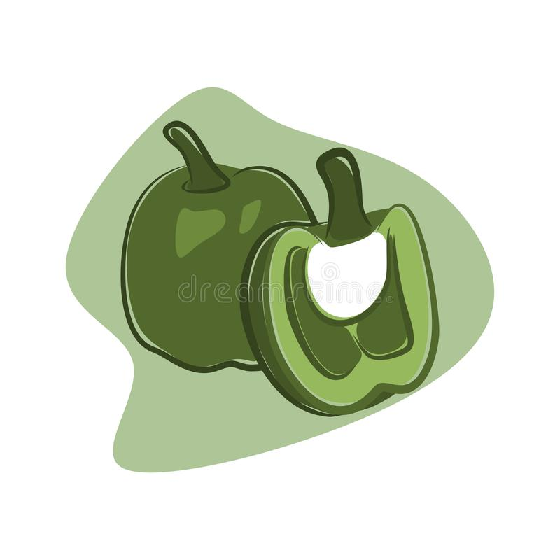 Pappers verts de stupéfaction illustration libre de droits