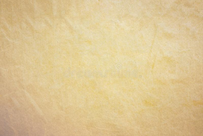 Pappersbakgrund för gammal guld arkivbilder