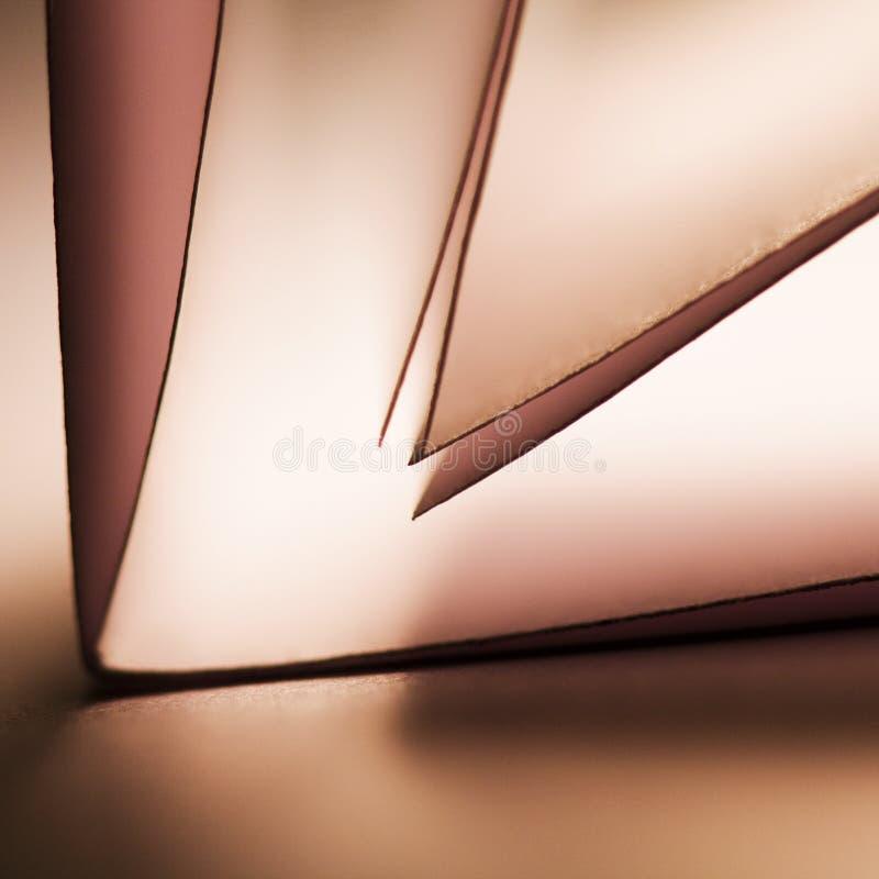 Pappersformer royaltyfri foto
