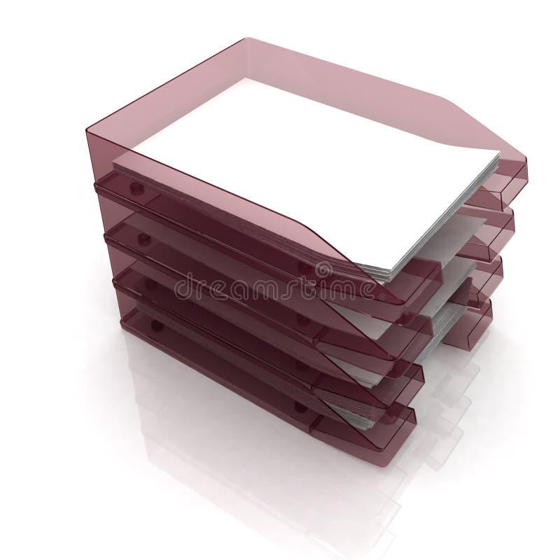 pappersmagasin vektor illustrationer