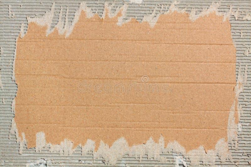 Pappfeld lizenzfreie stockbilder