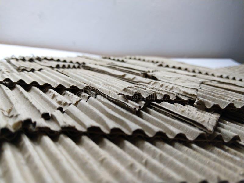 Papplandschaftsmodell stockbilder