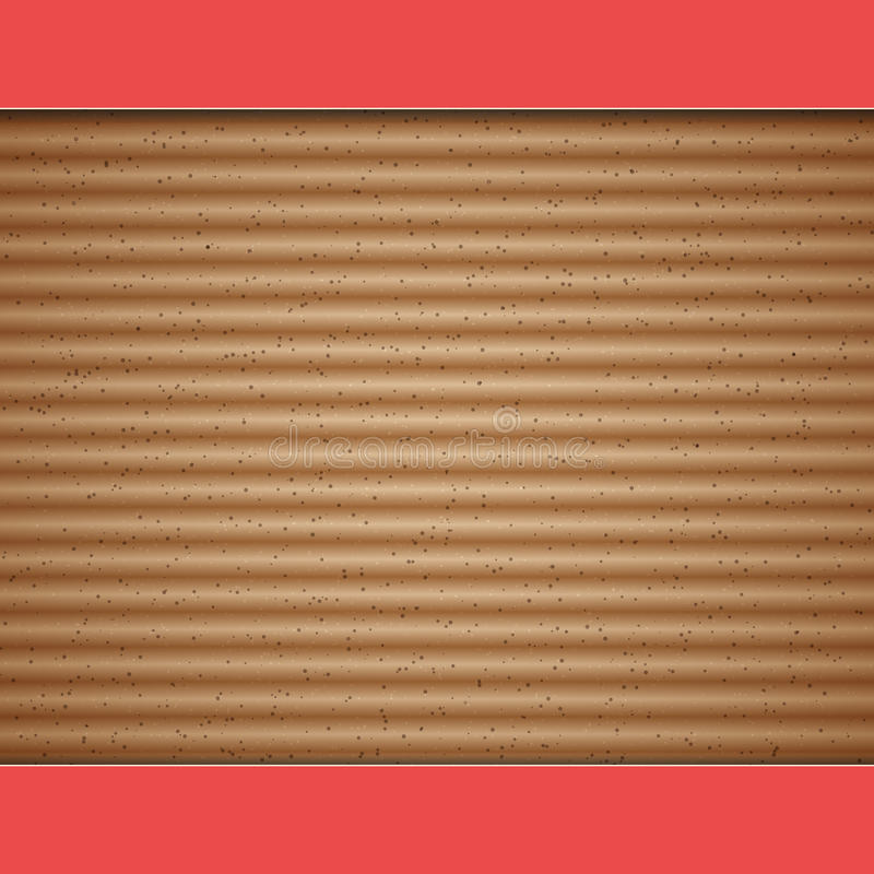 Pappvektorhintergrund lizenzfreie abbildung