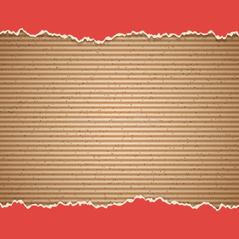 Pappvektorhintergrund vektor abbildung